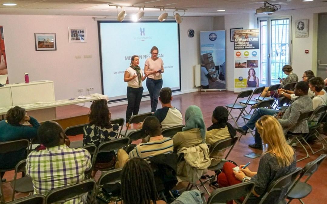 Humanitalents était hier à Bioforce pour lancer sa mission au Needistan