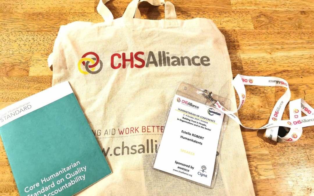 Humanitalents à la HHR conference