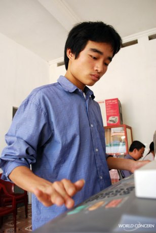 World Concern's Humanitarian Aid outreach in Vietname includes employing people with disabilities. They show time and again that they have much to offer.