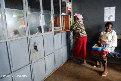 These women are saving for their future at a World Concern-sponsored credit union in Kenya.