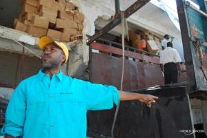 Haiti staff member