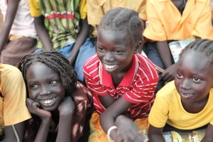 School kids in South Sudan.