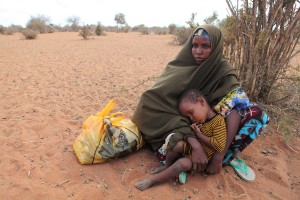 A Somali refugee mom