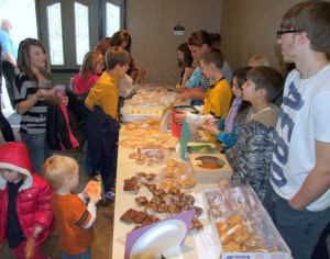 Bake sale for World Concern