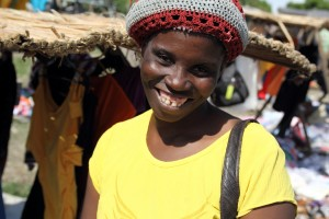 Meet Bellia - This mother of two sells clothing, shoes, and purses.  With her loan she was able to purchase products her customers were asking for.
