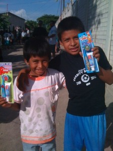Giving hygiene kits to these kids in Central America failed to solve the hygiene problems in their community.