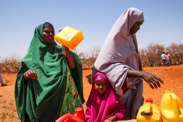In Somalia, one in three people have access to clean water; now, Canab is one of them