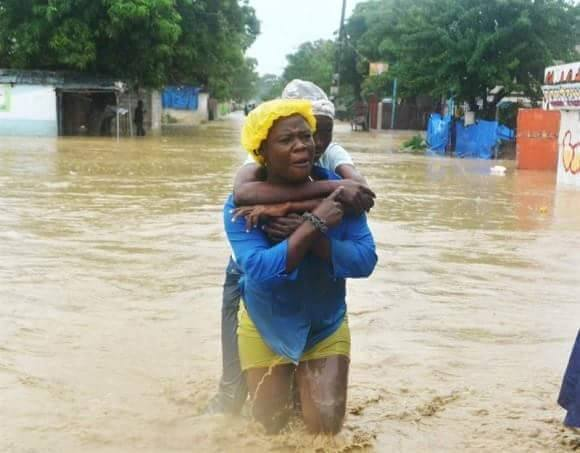 We must not forget our brothers and sisters in Haiti.