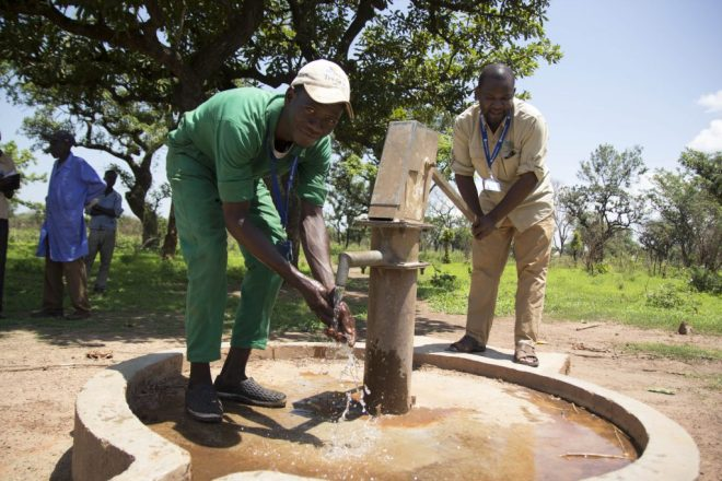 a sustainable source of clean water in South Sudan