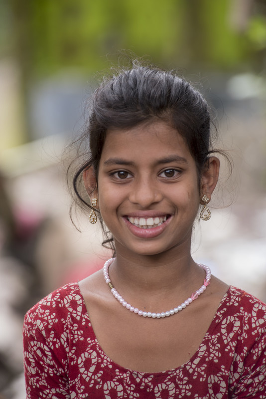 a girl's education in Bangladesh