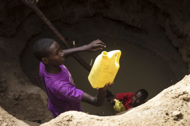 importance of clean water in rural Kenya