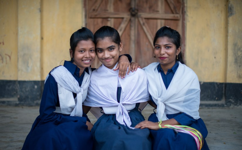 girls in Bangladesh who received scholarships for school