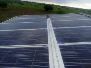 Solar Panel in Tonj, South Sudan.