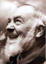 Padre Pio smile