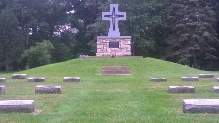 Sisters of Mercy graveyard
