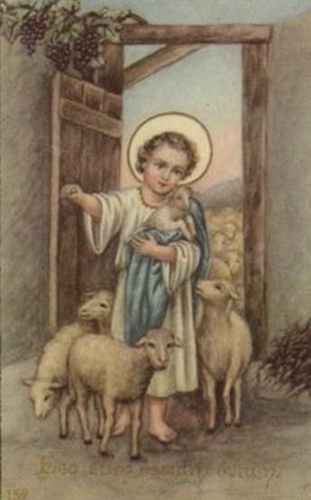 Jesus child shepherd