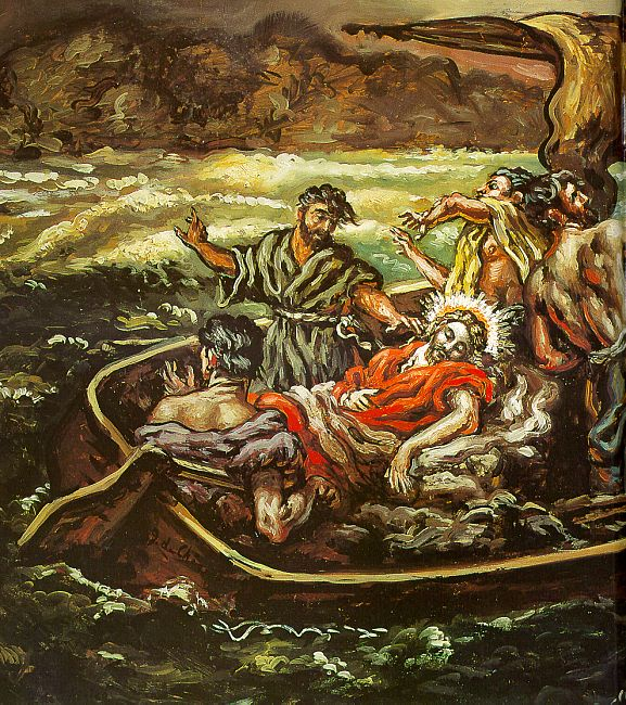 jesus-stills-the-storm-chirico