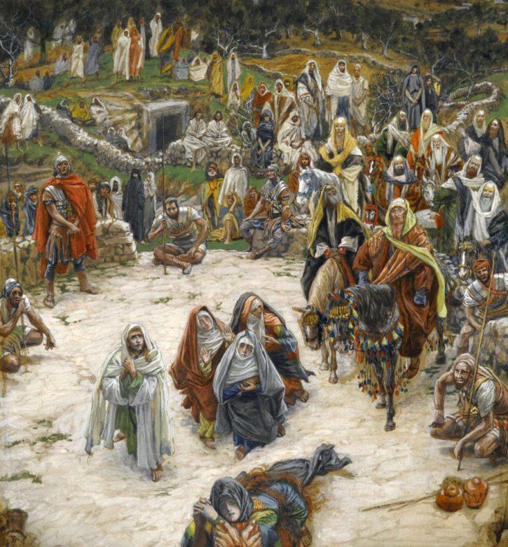 James Tissot 'What Our Lord Saw From the Cross' ('Ce que voyait Notre-Seigneur sur la Croix')