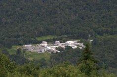 Monastery above