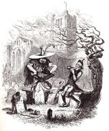 The Goblin who Stole a Sexton by Hablot Knight Browne - http://familychristmasonline.com/stories_other/dickens/gabriel_grub.htm