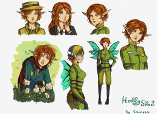 Holly Short doodle by Eminora