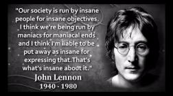 Lennon warned us.