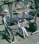 Discarded Gym equipment