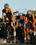 Trithletes cycling