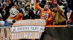 Sports fan loyalty Cleveland Browns