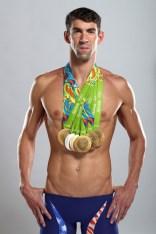 Michael Phelps Portrait Shoot