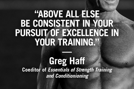 Be Consistent – Greg Haff