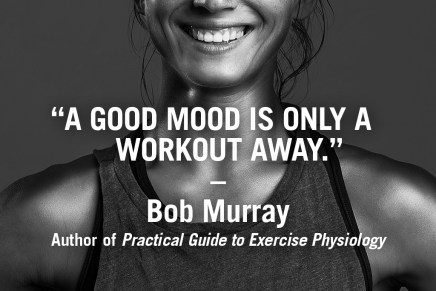 A good workout is only a workout away – Bob Murray