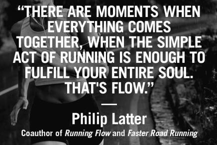 Running Flow – Philip Latter