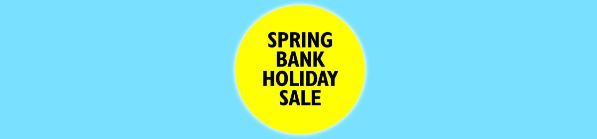 Spring bank holiday flash sale - 50% off