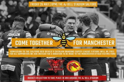 Fantastic gesture from Salford Red Devils RL
