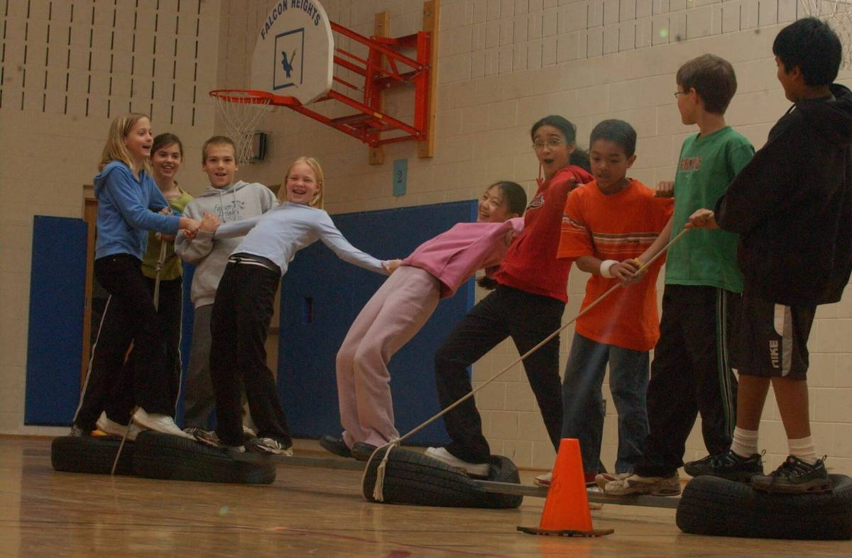 Fun physical education activities for developing social skills