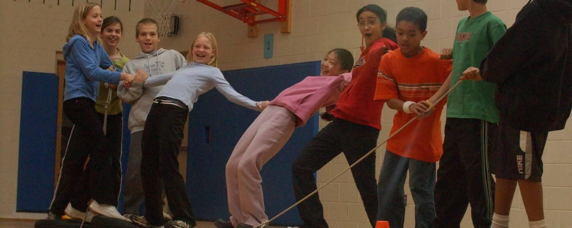Tem Building activities for developing social skills