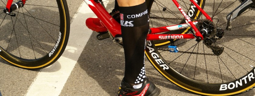 Compression Socks for recovery in cycling