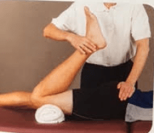 prone stretch (face down)