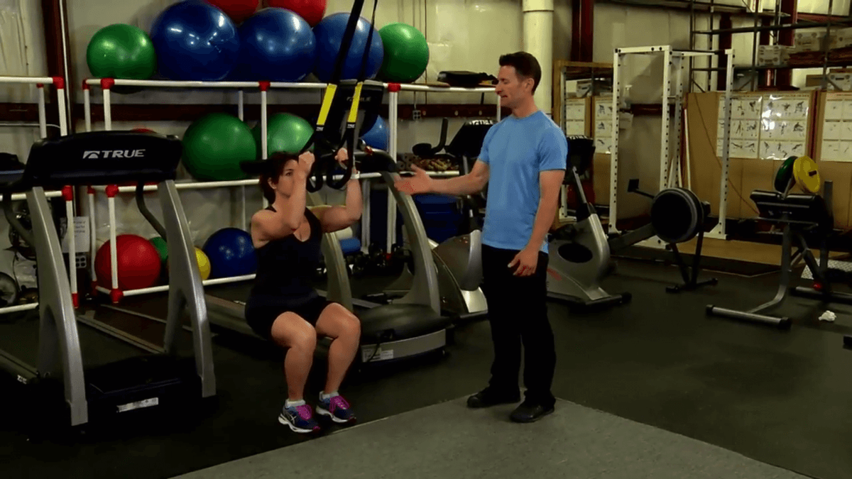 TRX® Workout - Iso Squat