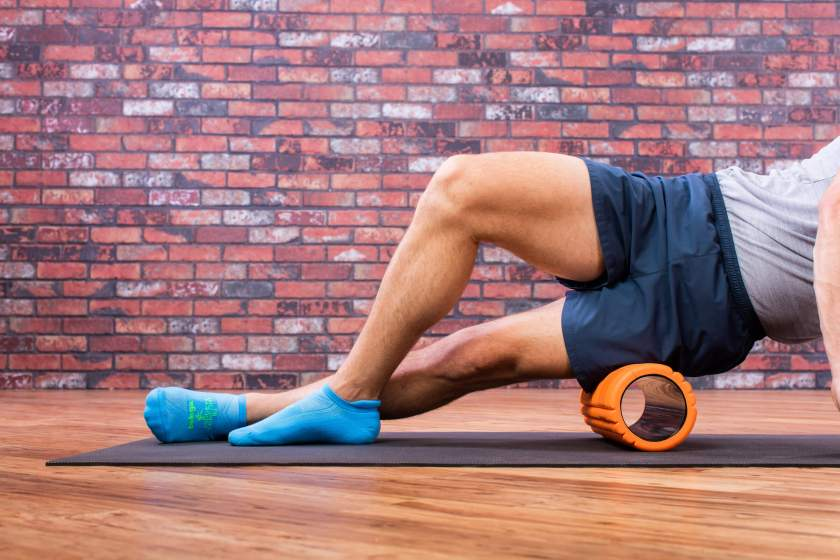 foam roller your IT band