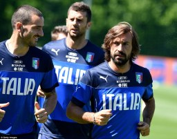 Italy football tapering