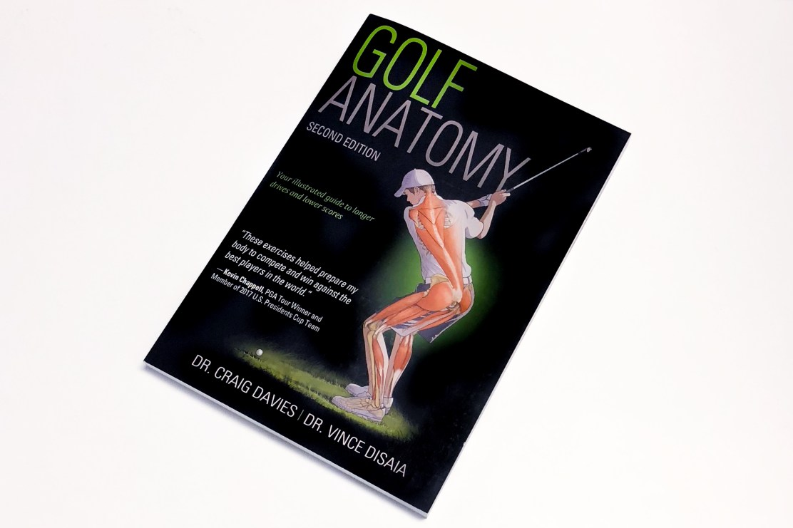 Win Golf Anatomy ebook Competition