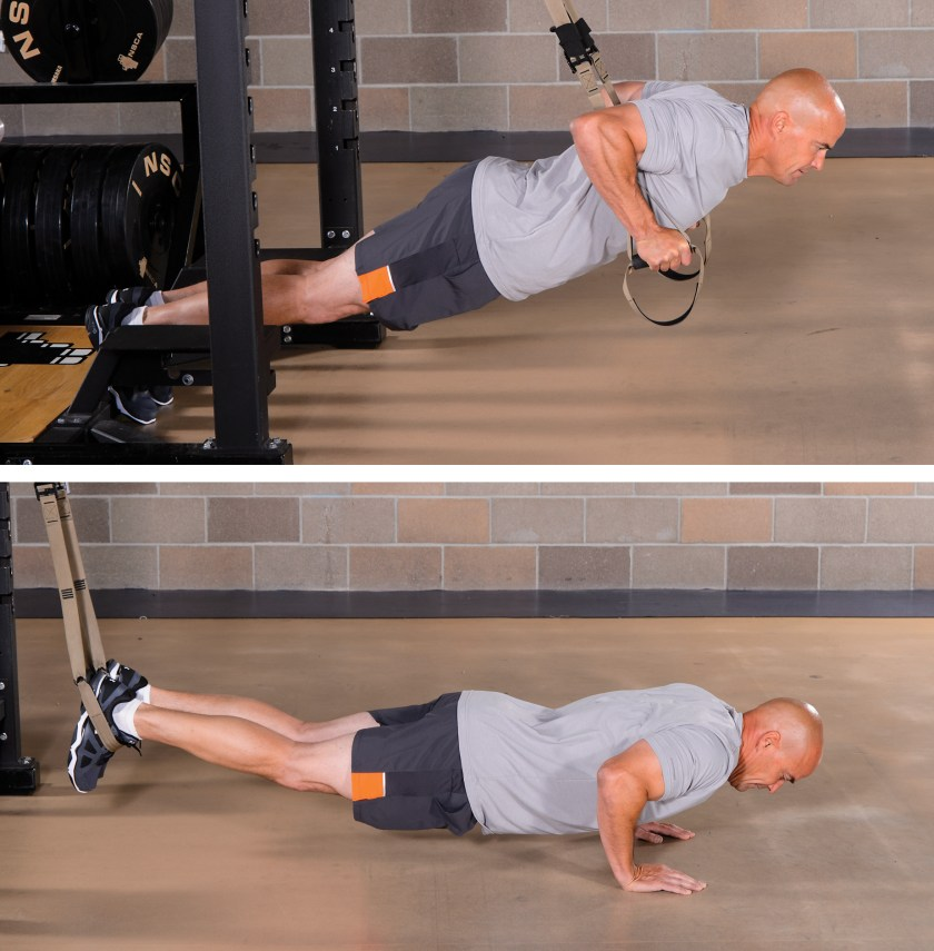 Suspension Training: Different types of strength and power training