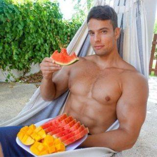 Vegan muscle Jon-venus