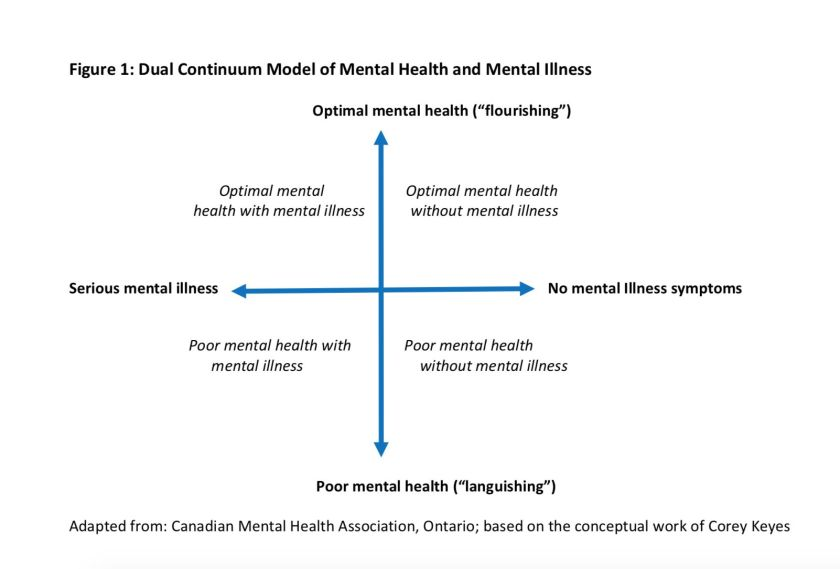 Mental Health in Schools Diagram