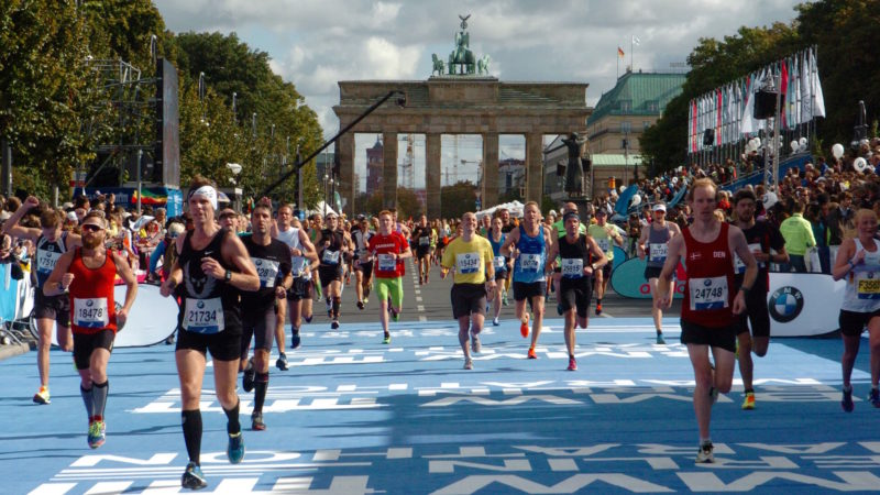 Berlin marathon growth of sport tourism