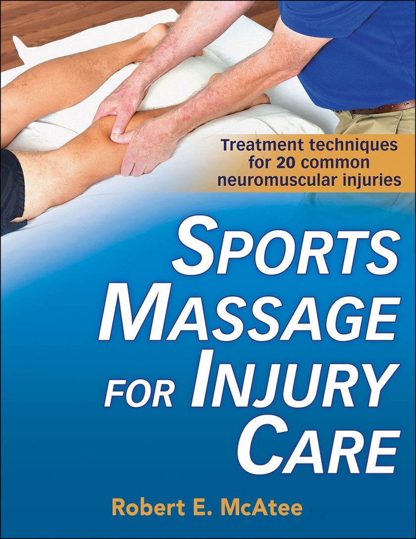Sports Massage for Injury Care - sports massage book