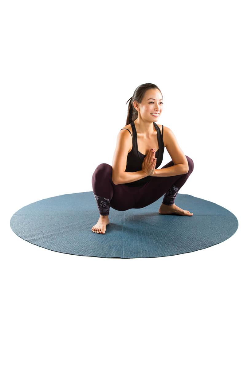 Pregnancy Yoga Poses - Garland pose