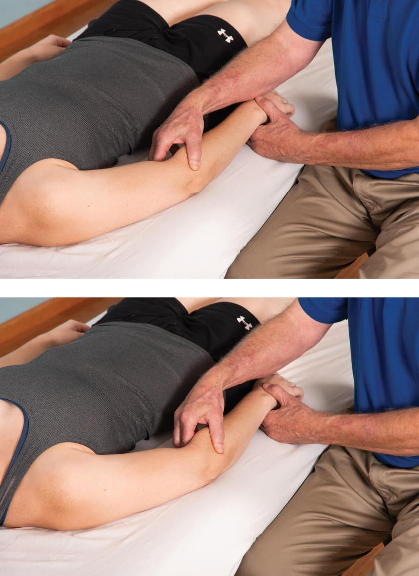 Using massage for tennis elbow injuries